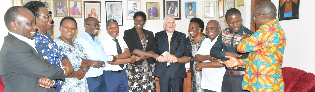 Collaboration between Bishop Stuart University & PUM Netherlands senior experts