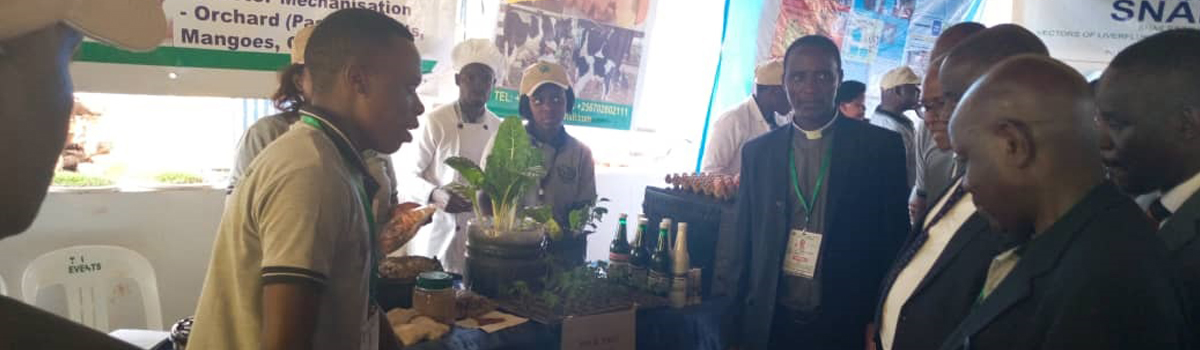 BSU participates in National Farmers Agricultural exhibition exercise at Jinja Show Grounds