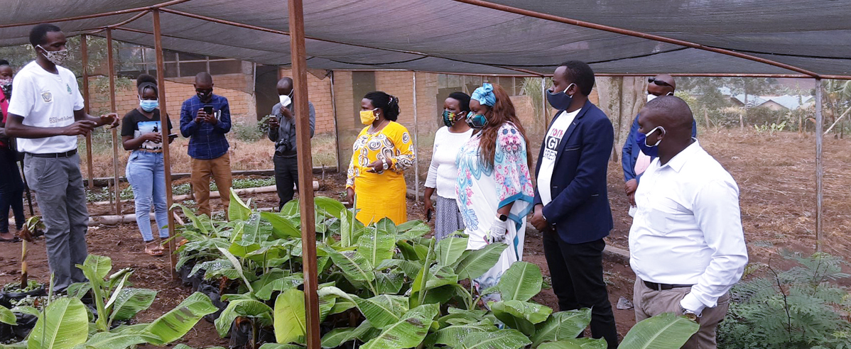 H.E Rosa Malango-Uganda's United Nations Resident Coordinator for the Republic of Uganda Visits Bishop Stuart University