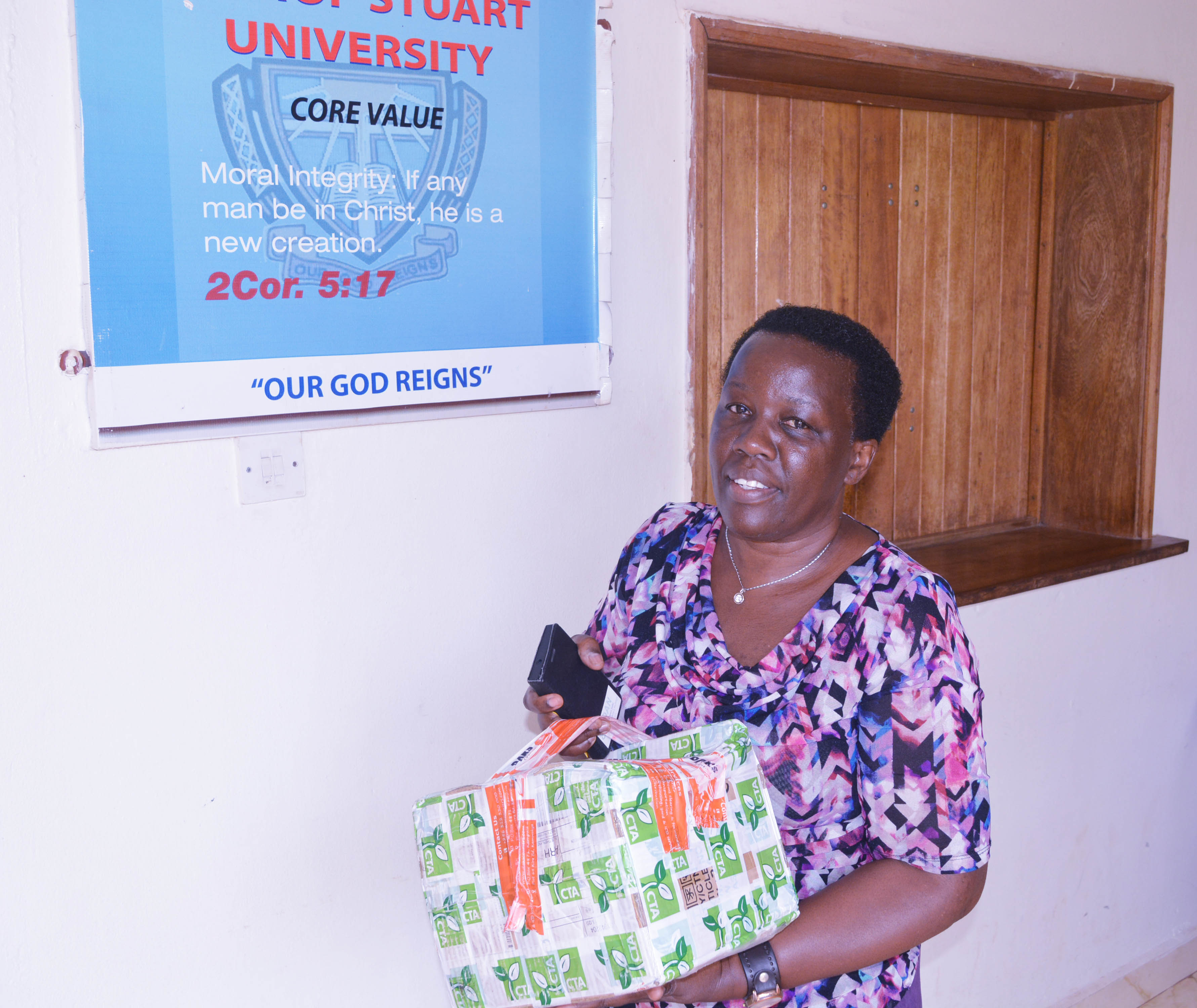 CTA donates a consignment of publications to BSU to support blended learning course on Entrepreneurship in Agribusiness
