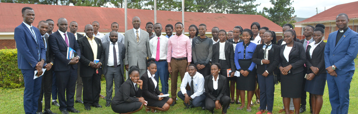 Prof. Mugarura Norman tips BSU Law students about the limits of the law and its borders